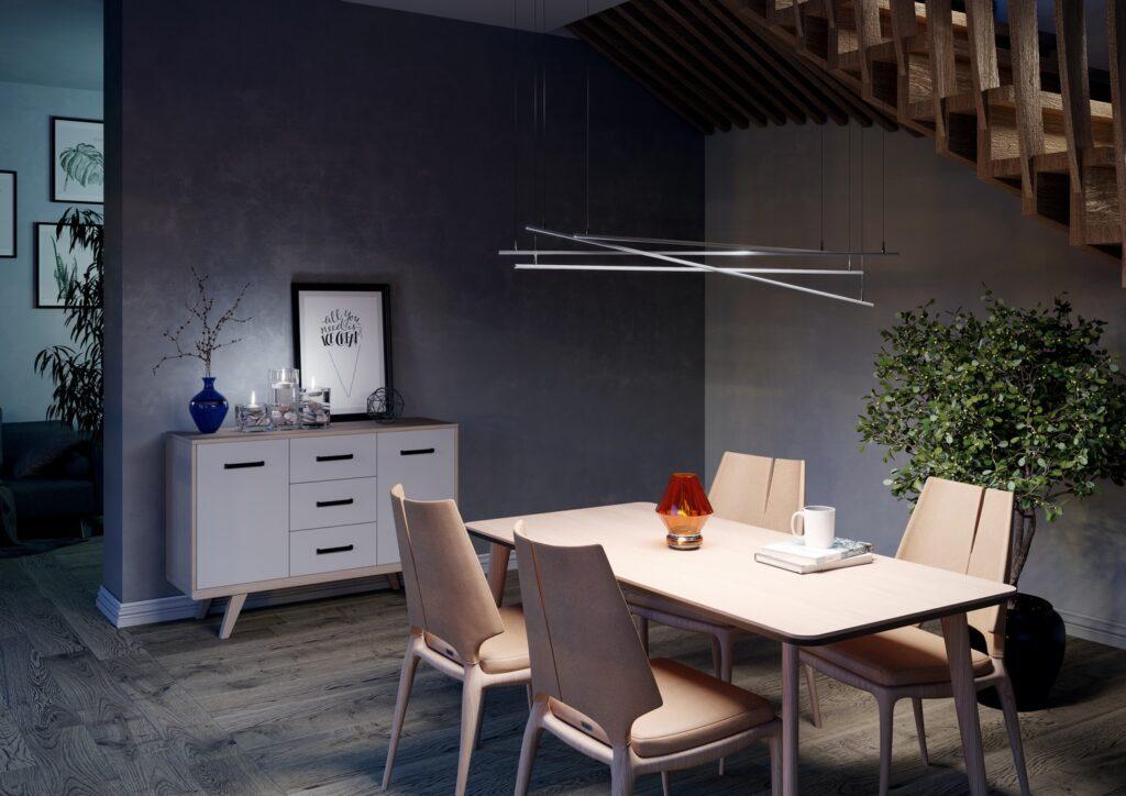 Wizualizacja produktu lampa sufitowa