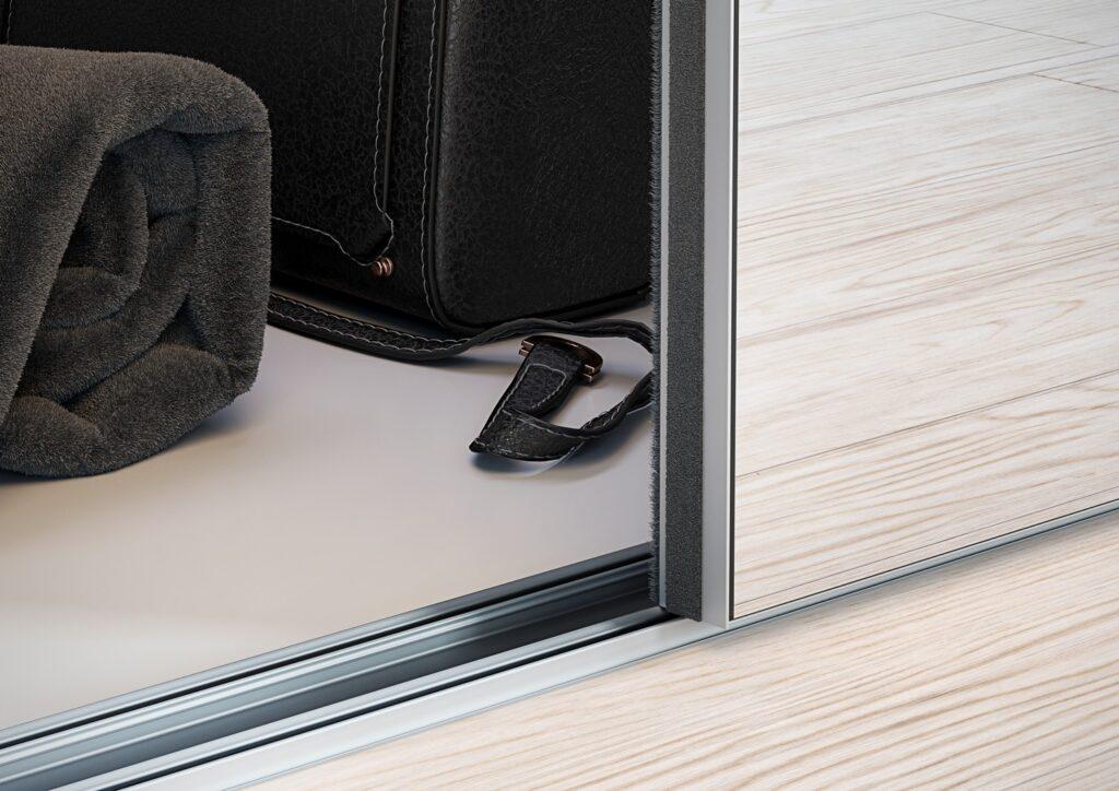 Wizualizacja produktu prowadnica szafy