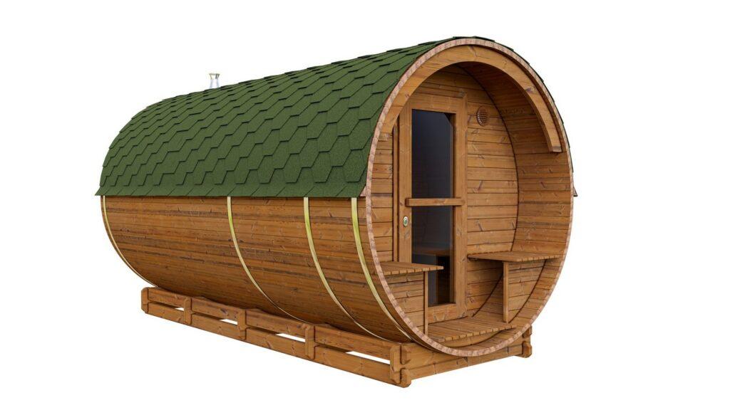 Packshot sauna ogrodowa