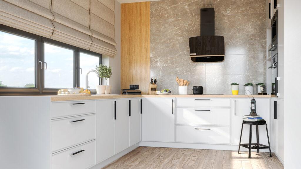 Wizualizacja wnętrza kuchni