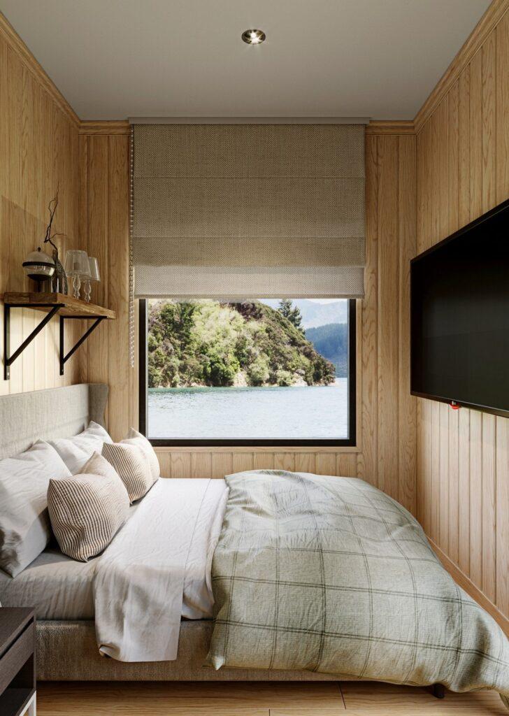 Wizualizacja małej sypialni