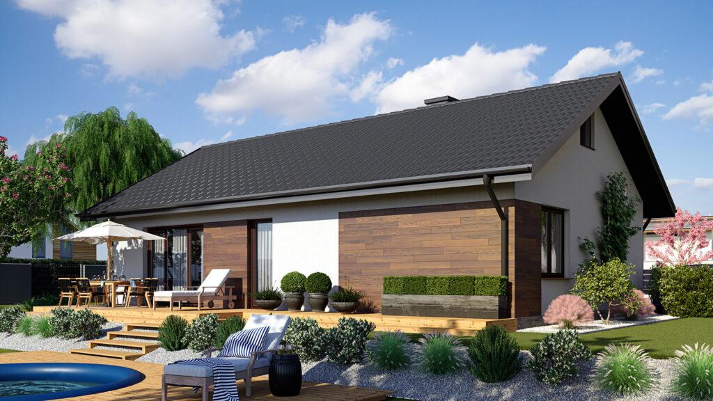 Wizualizacja 3D domu w cenie mieszkania