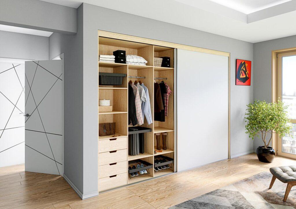 Wizualizacja szafy