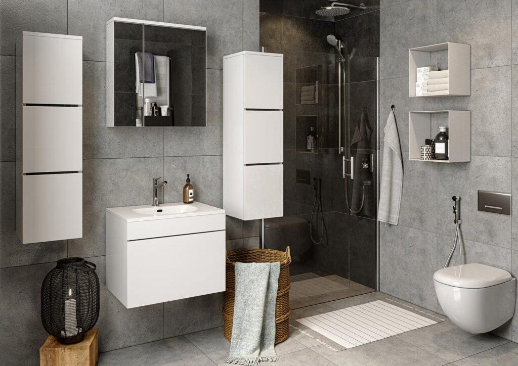 Wizualizacja mebli łazienkowych